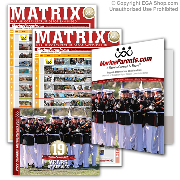 Corps Kit™-Recruiter Kit (Workbooks & Matrices for Poolee Families)