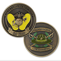 Coin, 2nd Battalion, San Diego