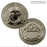 Coin, Crucible 2019, Parris Island (Limited Edition)
