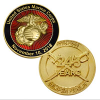 _Coin, 2018 Marine Corps Birthday (Limited Edition)