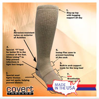 Socks: Covert Threads (Desert)
