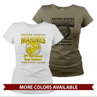 _Customized T-Shirt (Ladies): 2nd Recruit Btn