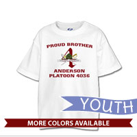 _T-Shirt (Youth): 4th Battalion Crest