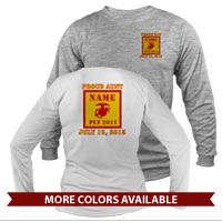 _Long Sleeve Shirt (Unisex or Ladies): 2nd Btn Guidon