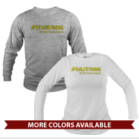 _Long Sleeve Shirt (Unisex or Ladies): 2nd Btn Hashtag Strong