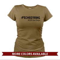 _T-Shirt (Ladies): 2nd Battalion Hashtag Strong
