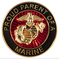 EGA Lapel Pin: Proud Parent of a Marine